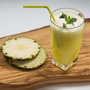 Fresh de ananas, mar, ghimbir si menta, 250 ml