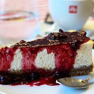 Cheesecake cald, 200 gr