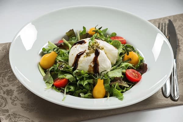 salata cu burrata and rucola 799